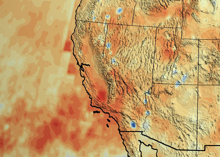 A new NASA study concludes that California accumulated a debt of about 20 inches of precipitation between 2012 and 2015.
