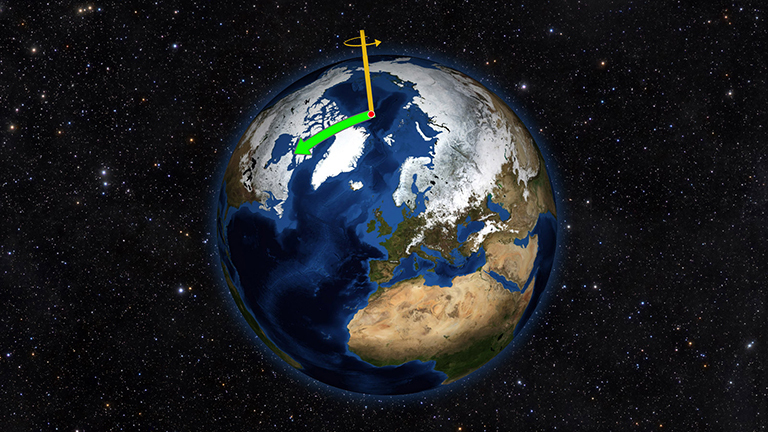 New data on how water moves around Earth answer old questions about the planet's rotation.